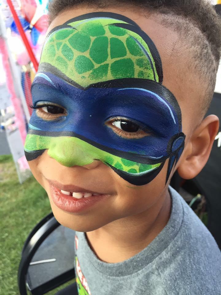 Teenage Mutant Ninja Turtle Lifes a Party Facepainting.jpg
