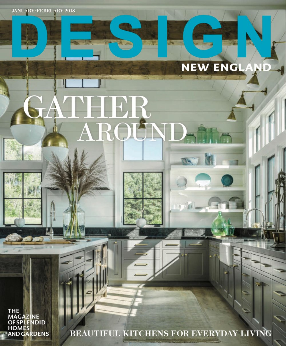 Design New England Magazine January-February 2018 issue