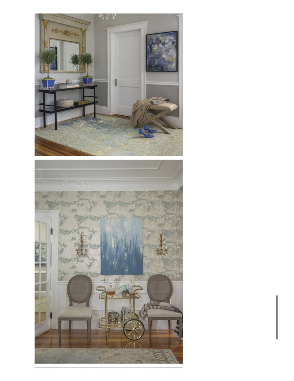 Living Room...SOUTHERN NEW ENGLAND MAGAZINE \ SUMMER 2017