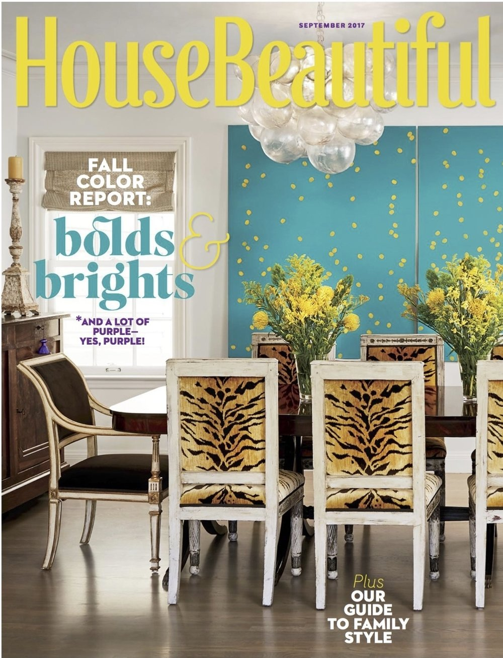 House Beautiful Magazine September 2017 issue