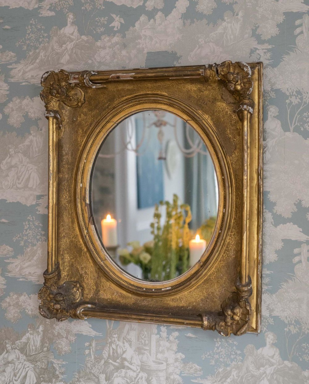 Dining Room Vintage mirror