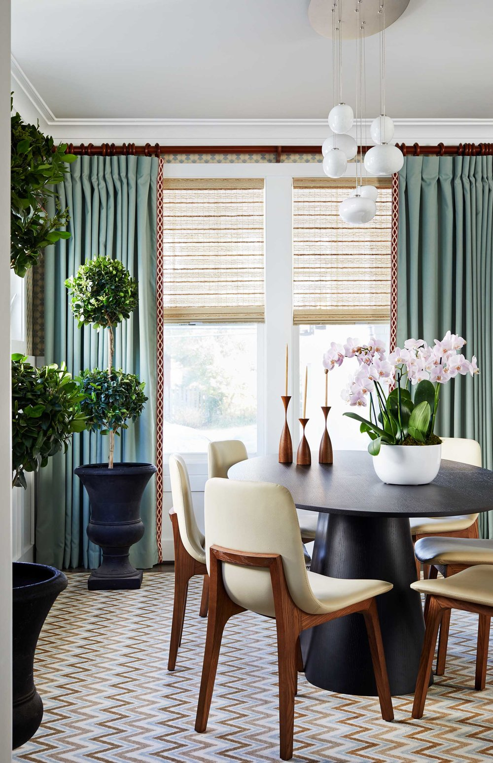 Dining room best of Boston Cambridge DC top-designers Dane Austin Design