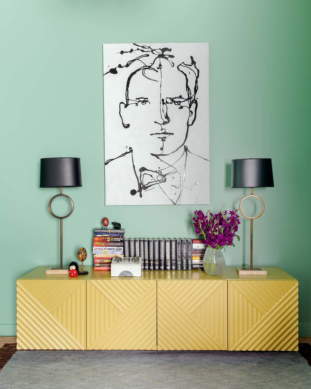 Best home office design in Boston and Cambridge condo interior designer top ideas Dane Austin Design