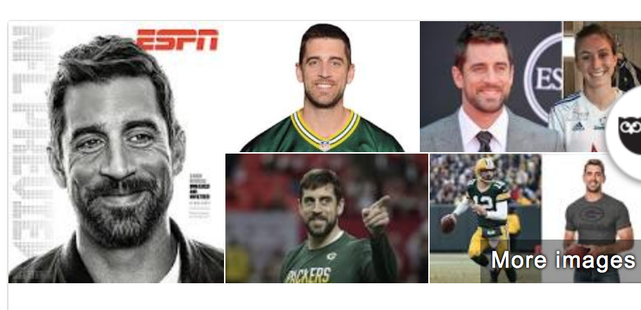 Aaron Rodgers is a golden retriever