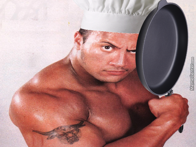 Do you smell what the rock is cooking?