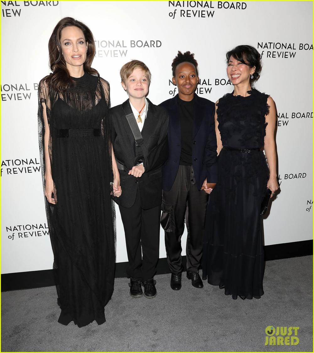 Angelina Jolie's publicist, or kid?