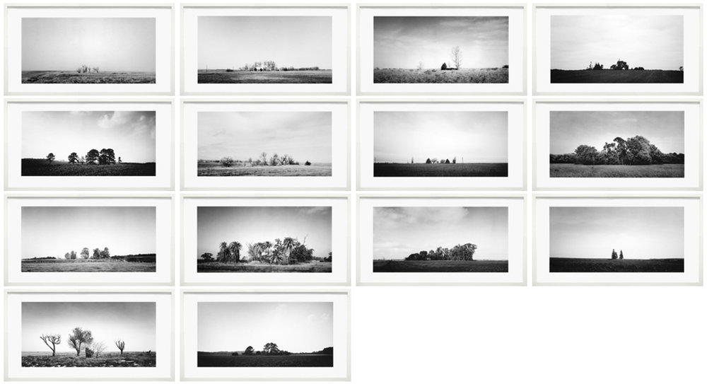 Series of 14, framed, one size, 1999-2005