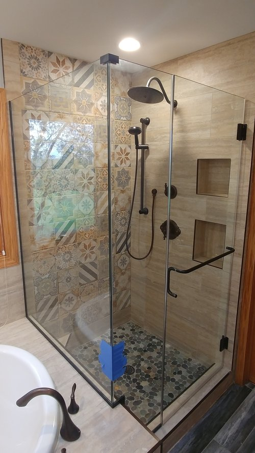 Custom Glass Showers & Enclosures   Clear View Industries Inc.