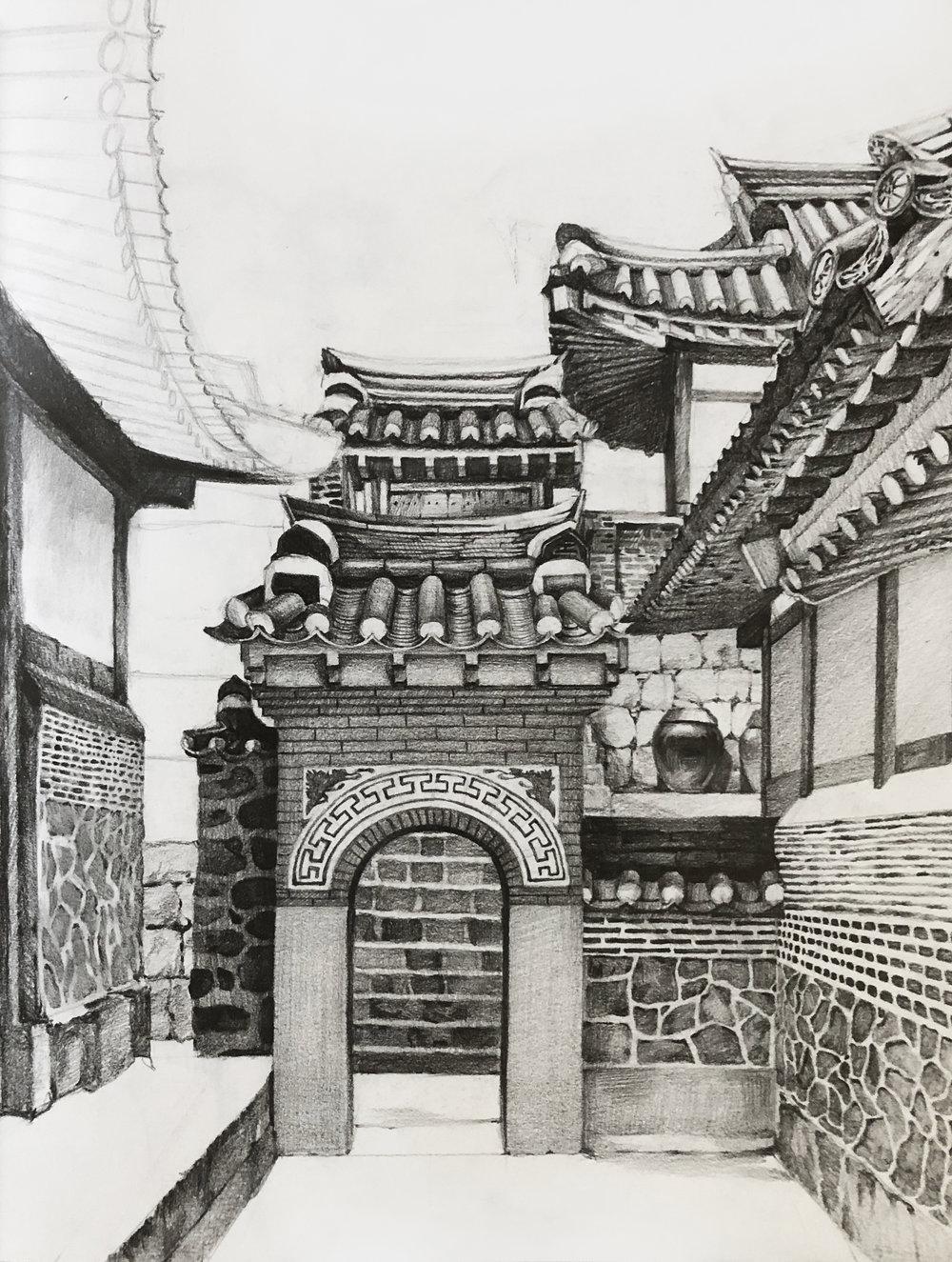 Hanok - Oriental architecture study