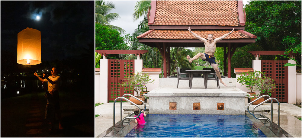 Paul turned 40 this year! We celebrated with a long weekend in  Phuket .