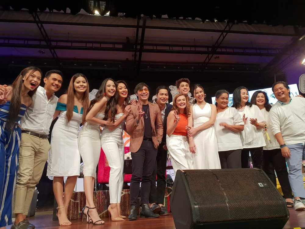 The cast of Playhouse at the presscon