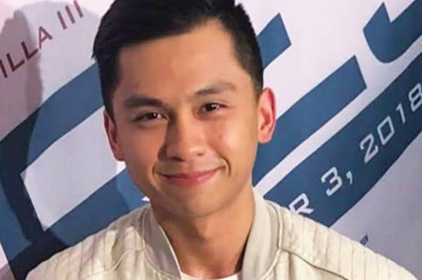"""The youngest among the 3 Revilla brothers, Luigi, a former matinee idol on GMA Network, stars in """"Amats,"""" an episode in """"Tres"""" directed by Dondon Santos."""