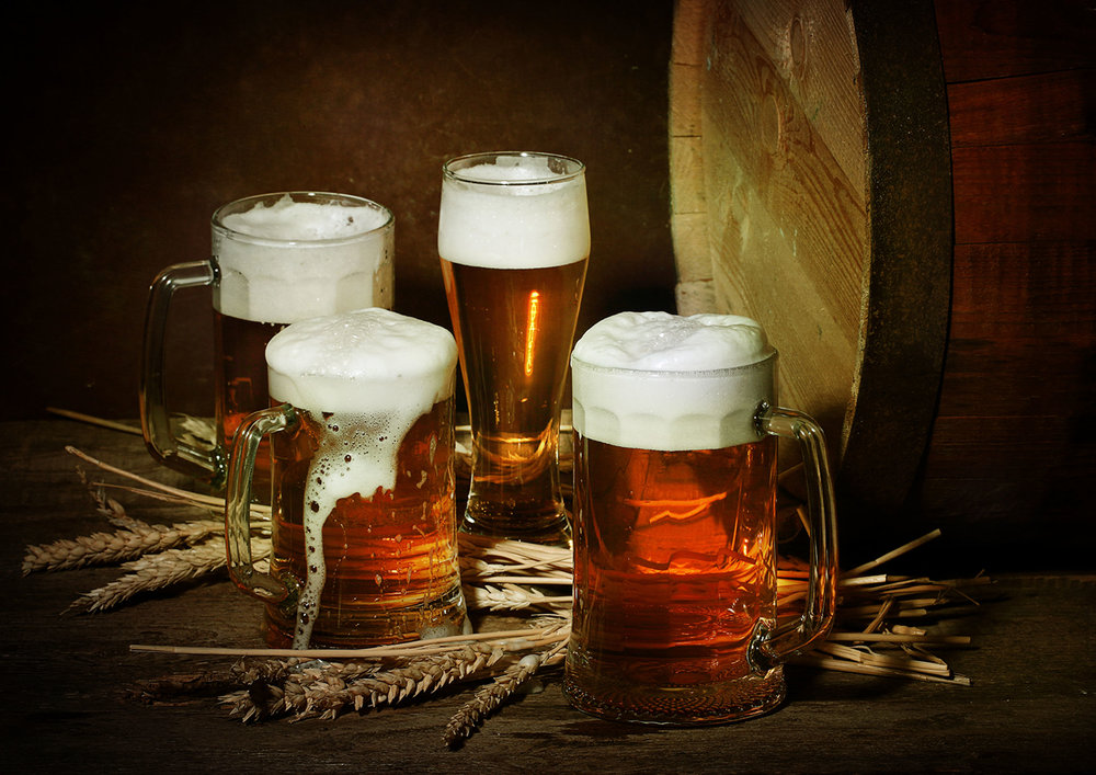 Beer from all over the world available at Vu's Sky Bar and Lounge