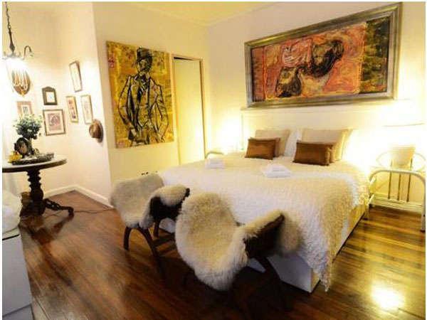 Casa Amapola's De Luxe room