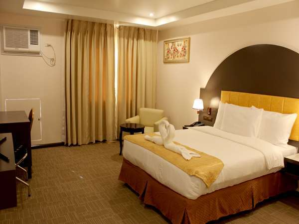 In Mindanao's Butuan City, you can rest in this cozy room at Butuan Grand Palace Hotel