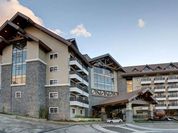 The imposing building of Azalea Hotels and Residences Baguio