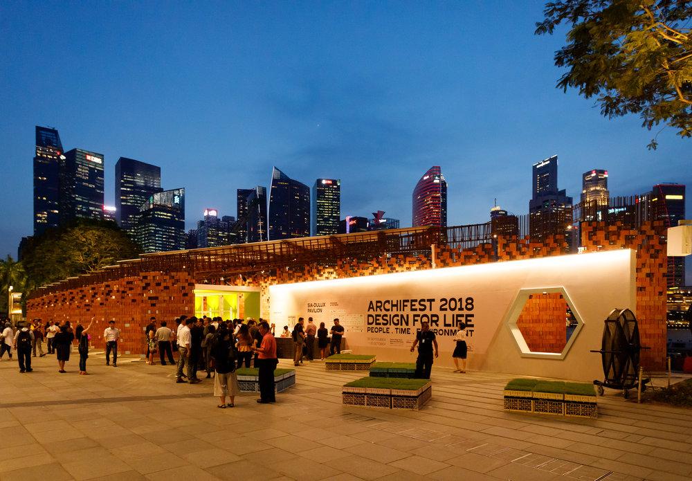 The Festival Pavilion for Archifest 2018, designed by Kite Studio Architecture