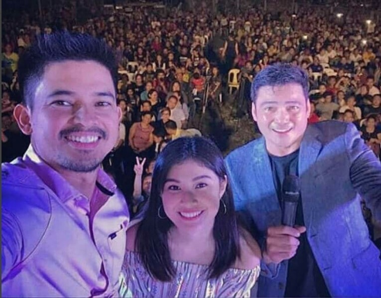 Jason Abalos, Thea Tolentino, and Gabby Concepcion celebrated the Kapuso Fiesta in the Municipality of Compostela Valley