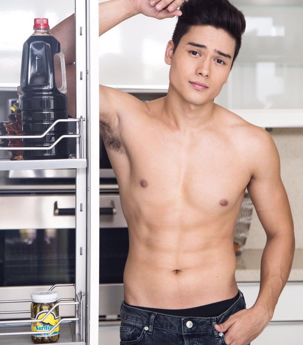 Marco Gumabao takes advantage of his good looks and well-built physique to land roles on TV and the movies