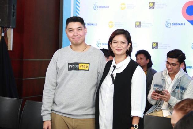 Merryl Soriano with director Whammy Alcazaren