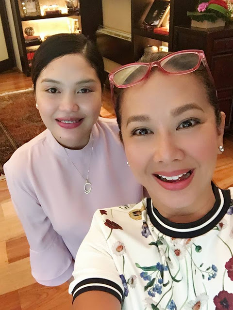 Korina Sanchez got wind of Glenda Victorio's (right) amazing success she featured her in  Rated K
