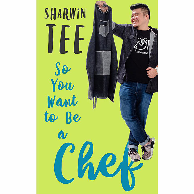 Chef Sharwin also launched his new book, So You Want To Be A Chef