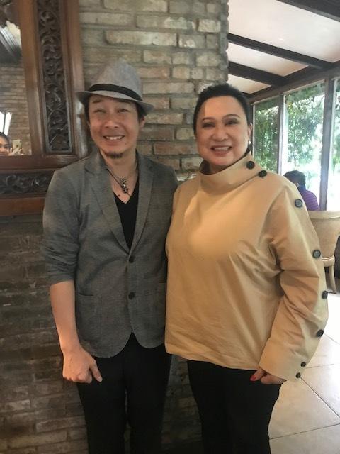 Shoichi Tanimura introduces his line of haircare and treatments through Hair Asia's Evelyn Alvaran-Cruz