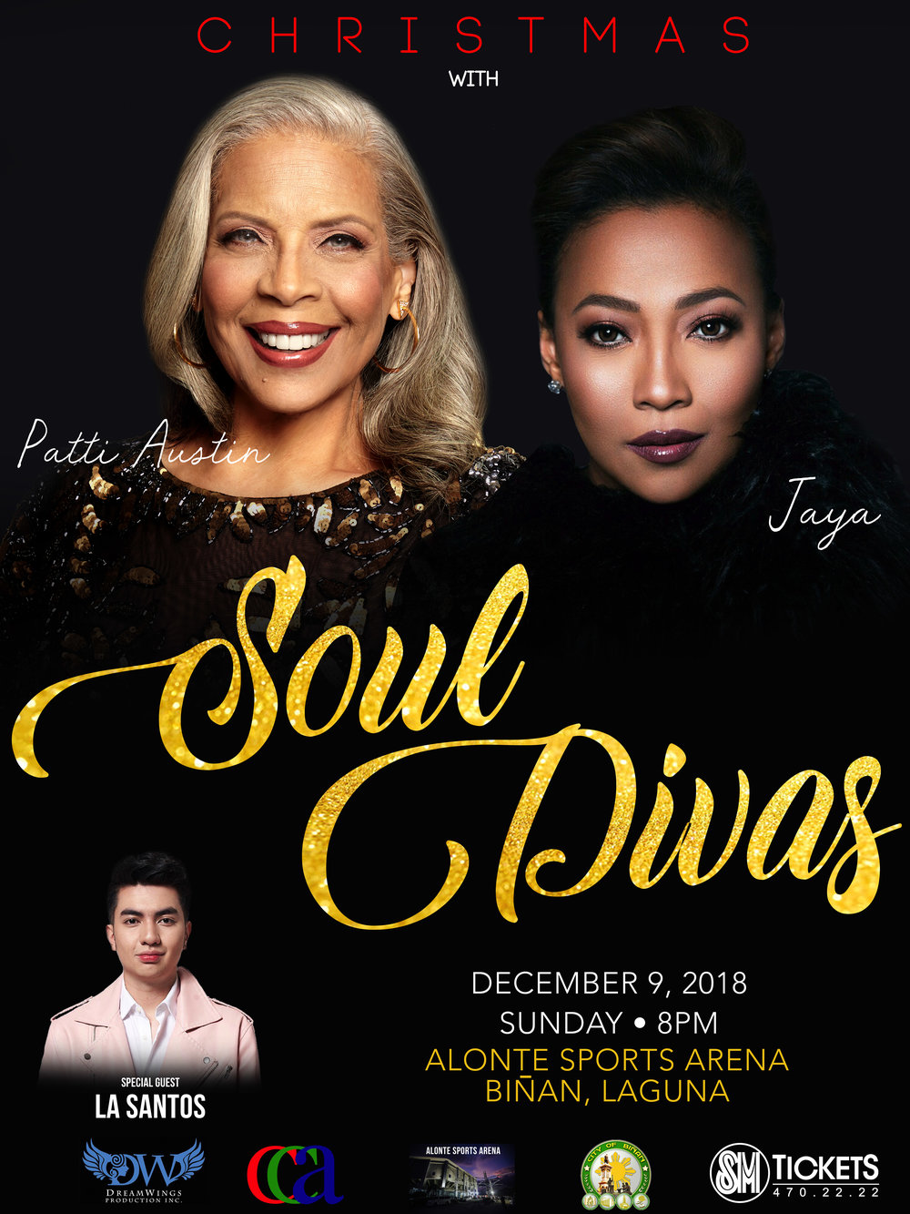 The poster of Christmas with Soul Divas