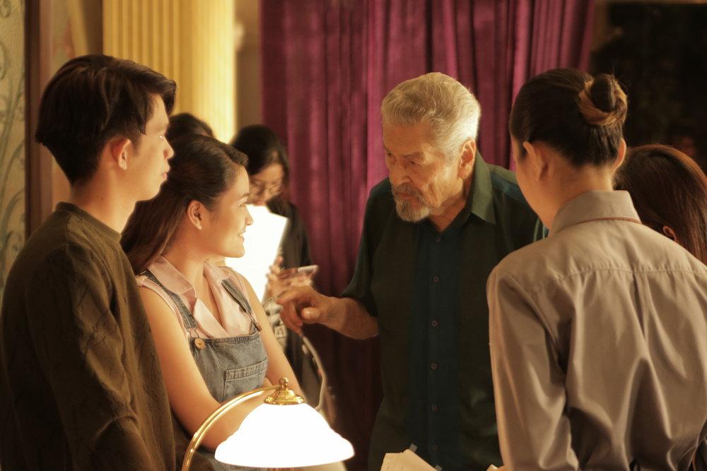 Eddie Garcia in a scene from Hintayan ng Langit