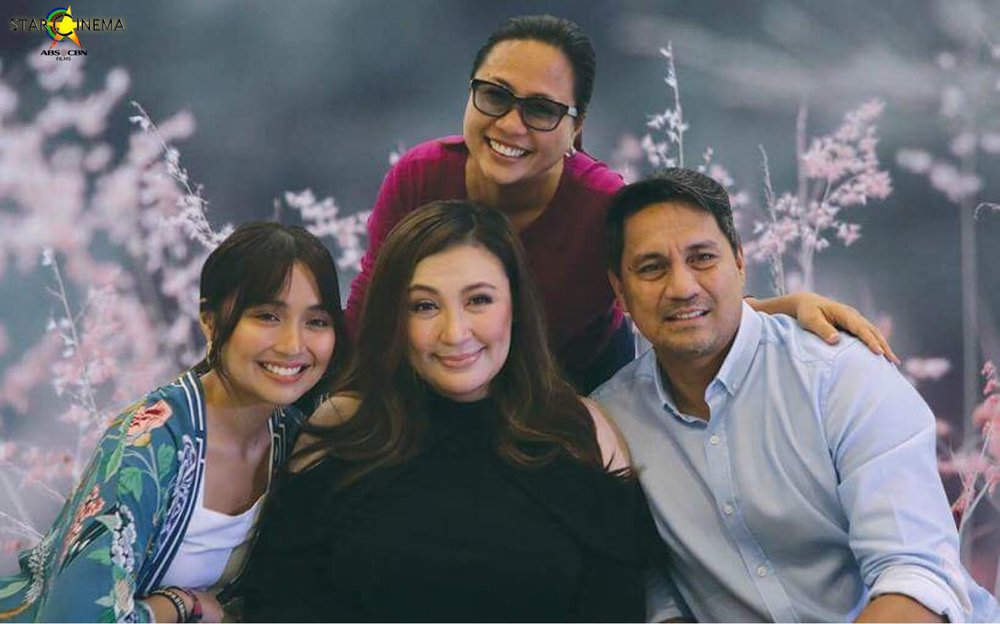Sharon Cuneta is happy to be reunited (even if only on scree) with former sweeetheart Richard Gomez, and admits to having a nice working relationship with director Cathy Garcia Molina and young actor Kathryn Bernardo