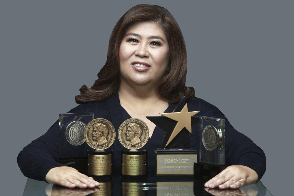 Jessica Soho won back-to-back with Best Magazine Program Host and Best Magazine Program for  Kapuso Mo, Jessica Soho