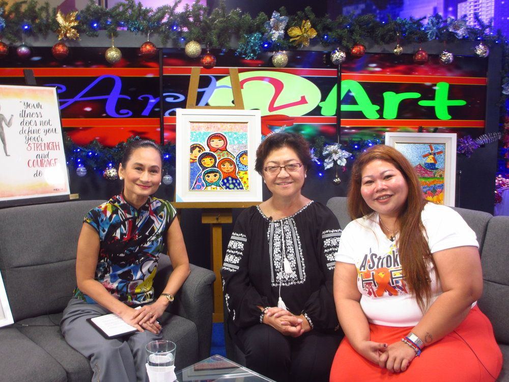 Lisa Macuja with Jingjing Romero and Diselle Falcon