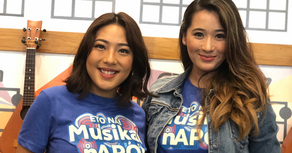 Rita Daniela and Marita Sasaki reprise their roles in the APO musical
