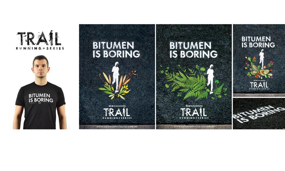 SALOMON TRAIL RUN SERIES    Event branding and ad campaign   Heidi Green: Art Director, Photographer
