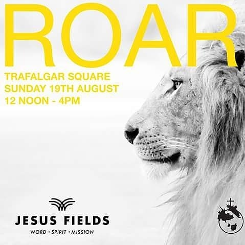 HOW WE HAVE PRAYED FOR A REVIVAL – WE DID NOT CARE WHETHER IT WAS OLD-FASHIONED OR NOT – WHAT WE ASKED FOR WAS THAT IT SHOULD BE SUCH THAT WOULD CLEANSE AND REVIVE HIS CHILDREN AND SET THEM ON FIRE TO WIN OTHERS. – MARY BOOTH  Tomorrow is not just a meeting. Tomorrow the lion of Judah will roar and thunder through His people  in the centre of London shaking the very heavens with salvation. Come and have that on your eternal testimony. Stand with us. Pray with us. #Roar