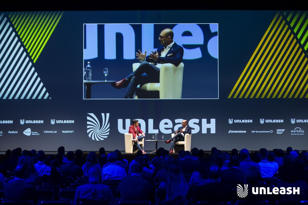Talking about the Moral Imperative of People Analytics with Amit Mohindra at UNLEASH in Amsterdam