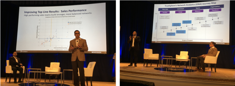 RJ Milnor (McKesson) and Manish Goel (TrustSphere) on how insights from ONA helps drive business results