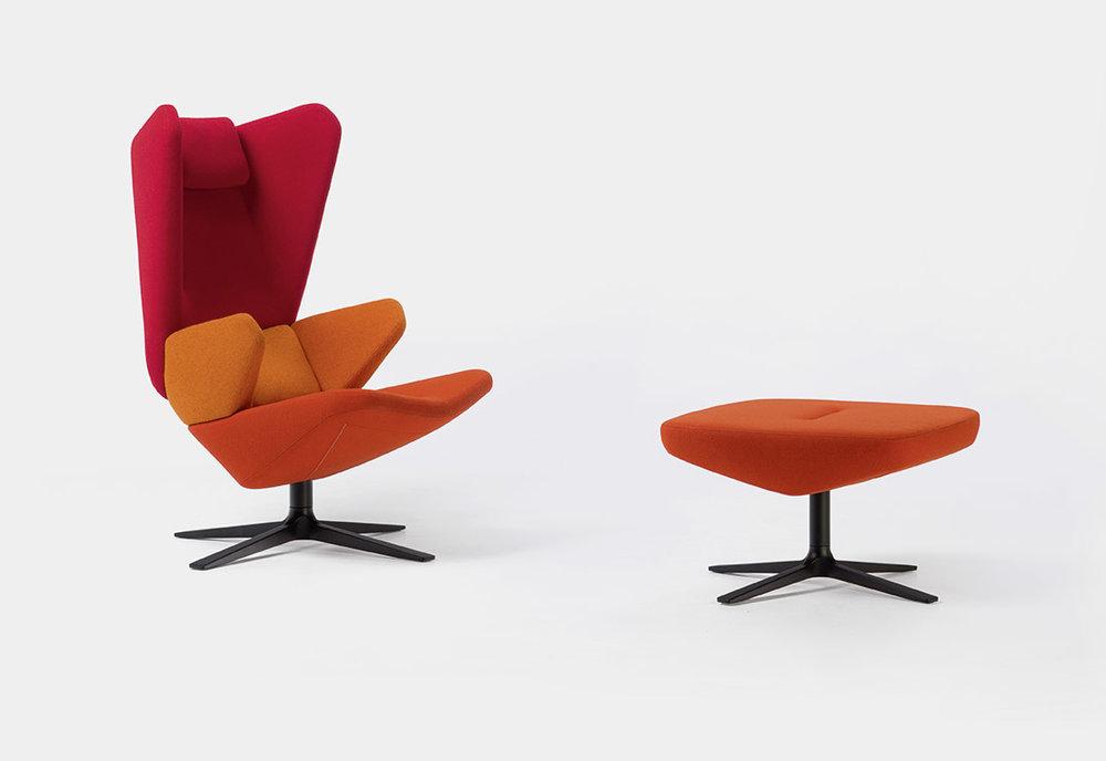 Trifidae Lounge Chair  for Prostoria, 2017 photo by Pavel Posavec