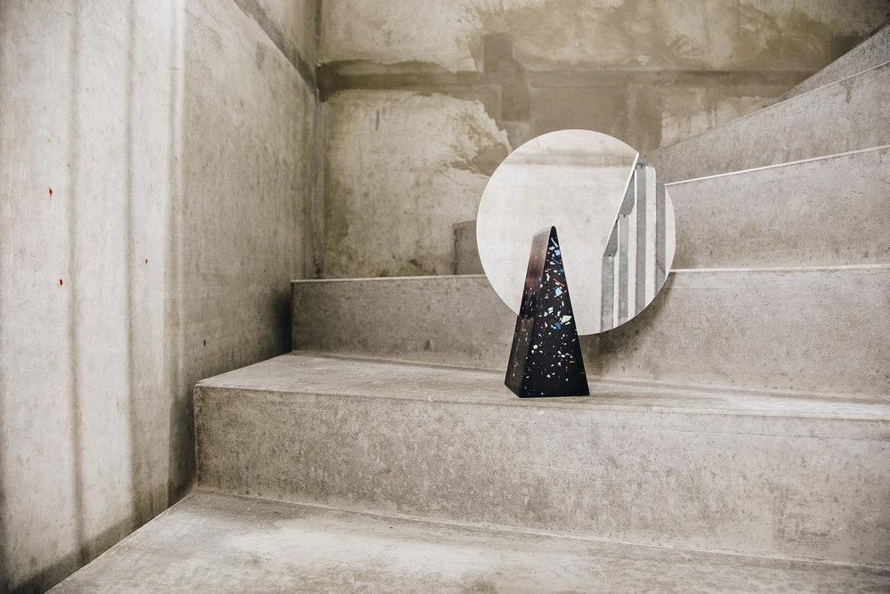 Solid Geometry Mirror , 2017