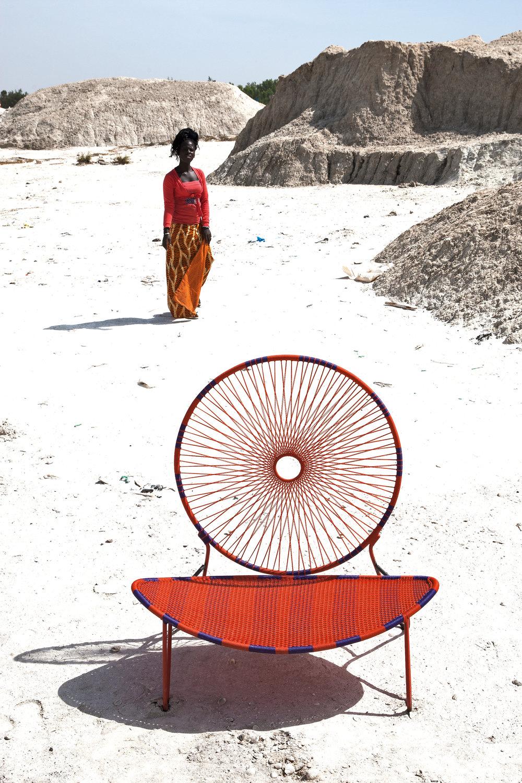 O-Chair  for Moroso, 2016 photo by Sandro Paderni