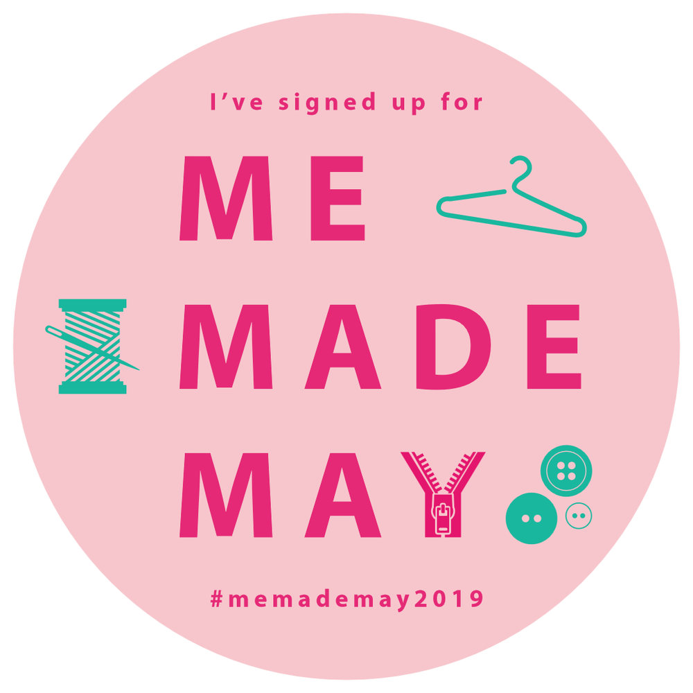 Sign up to participate in Me Made May over at SoZo's blog  here