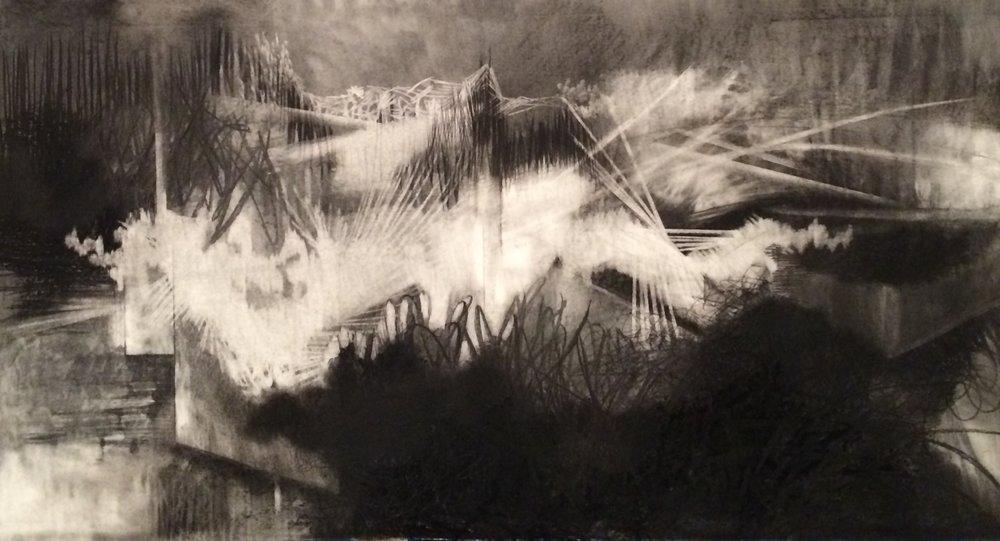 """Freedom Day 36 x 68"""", 2014"""