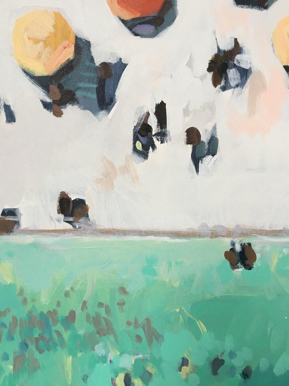 Tangerine Dream (detail), 2018