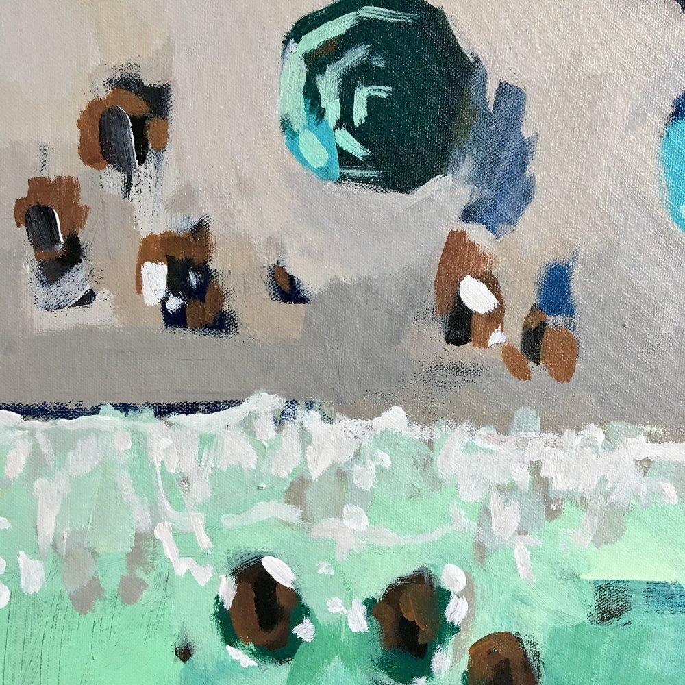 Green Dream (detail), 2018