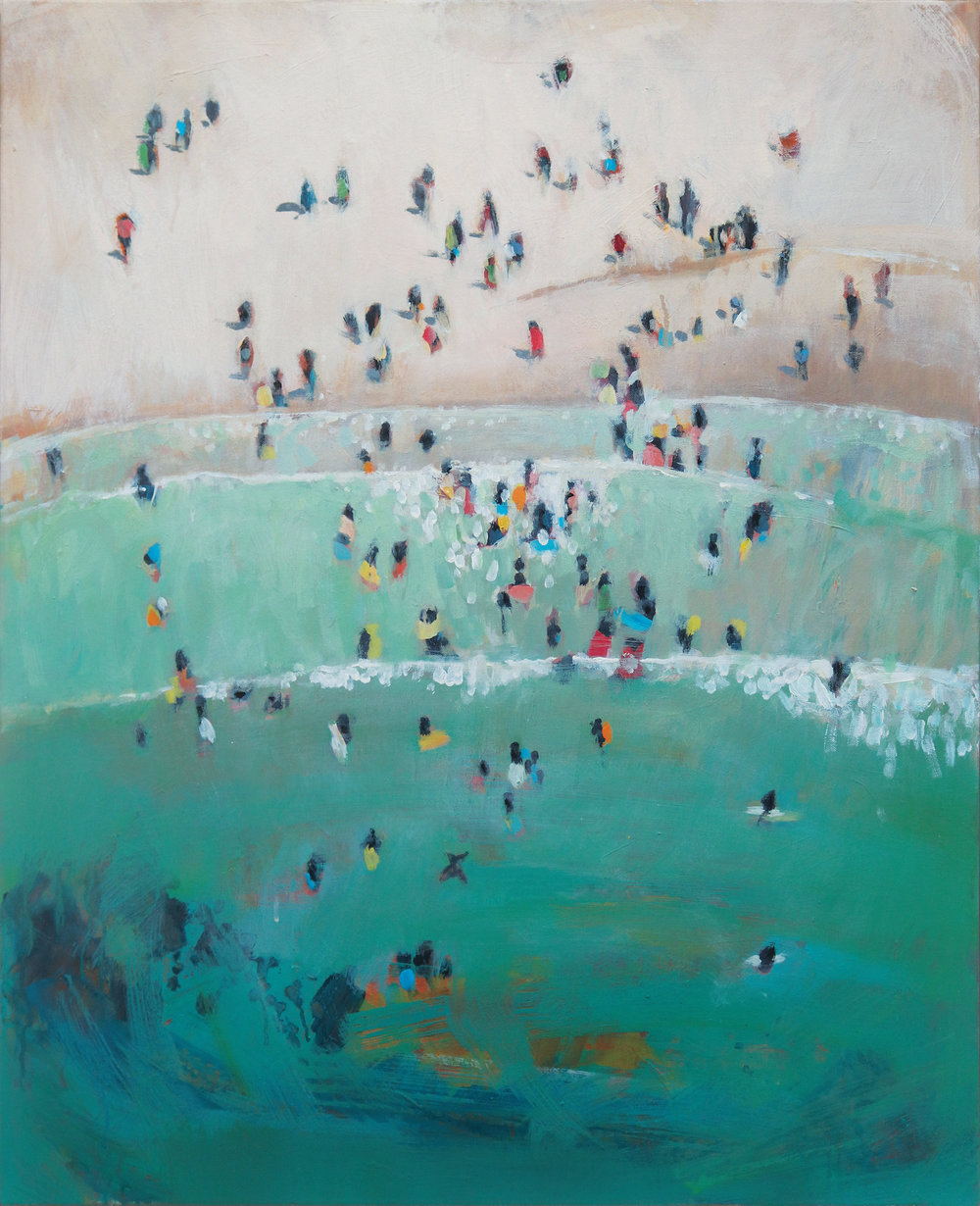 Nina Brook Cornish Coast Limited edition Giclee on Hahnemuhle Pearl 74cm x 60cm Edition of 40 £300 each (unframed)