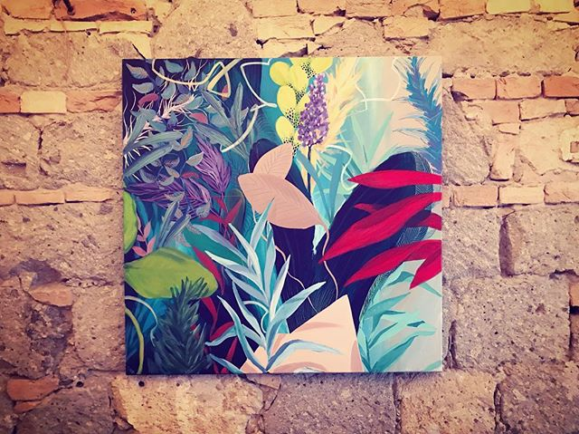 One of my fave from my new series 100x100 . . . . #art#budapest#mazeltov#artexhibition#visual#contemporaryartist#interiordecor#plantsmakepeoplehappy#painting#fineart#artistoninstagram#contemporaryart#artsy#wip#mik#artcollector#beautyaddict#abstractartist#originalartwork#madebyme#fanipolonyi