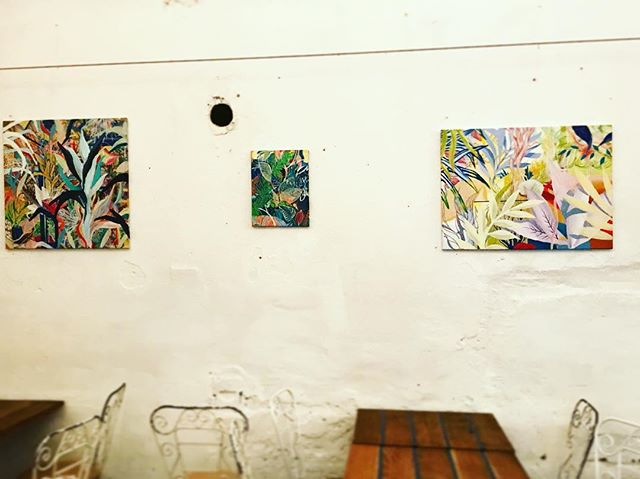 ☕️🎨🌱 . . . . #artworks#instagallery#interiordecor#budapest#mazeltov#bevisuallyinspired#exhibition#wip#mik#contemporaryart#paintings#artexhibition#fineart#contemporaryartist#visualart#artlover#kunst#fanipolonyi#