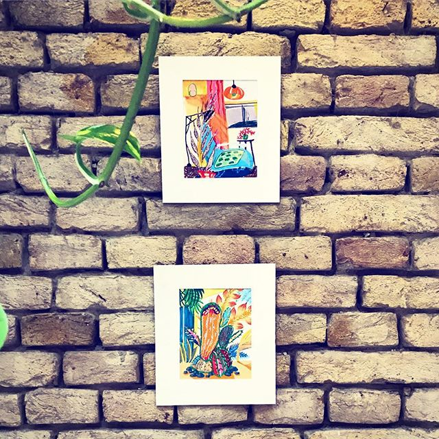 🗝 . . . . #pocket_colors#walldecor#sketching#bevisuallyinspired#sketch_daily#contemporaryart#wip#brickwall#interiordesign#plantstrong#originalartwork#artistoninstagram#artcollection#artlovers#kunst#fanipolonyi