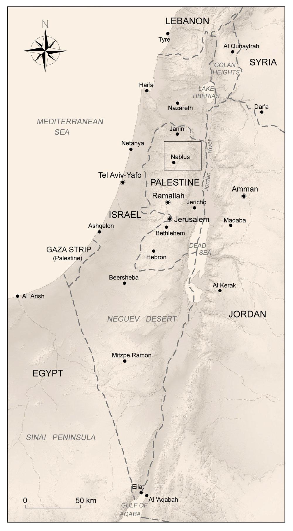 Mapa de Localização.
