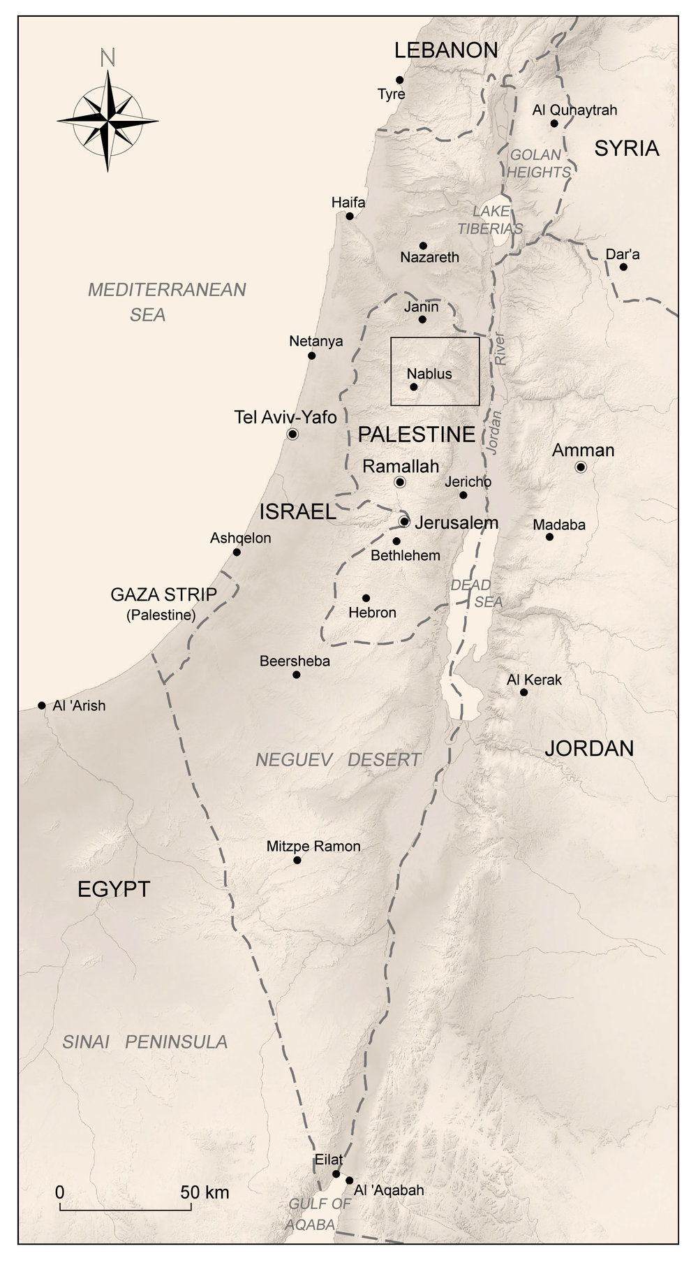 Mapa de localización.